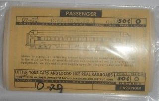Toys & Hobbies  Model Railroads & Trains  O Scale  Decals