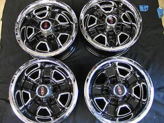 CUTLASS SUPREME HURST 442 SET OF 4 14 X 6 RALLY WHEELS OEM RESTORED