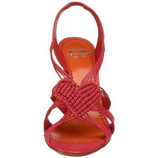 CHEAP & CHIC Sampei Red Love Heart Christmas Party Wedding Heels $495