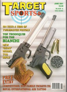 SPORTS June 2001   Starr 1863 Revolver, Remington Model 710, guns