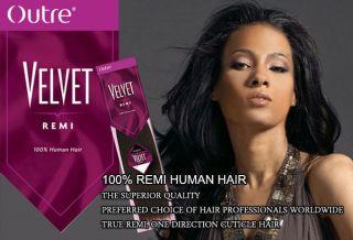 OUTRE Velvet Remi 100% Human Weaving Hair Yaki