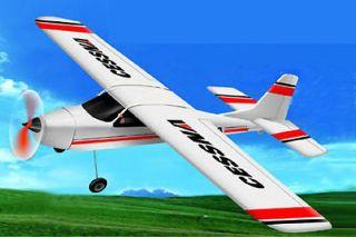 4CH Radio Remote Control Electric CESSNA Airplane RC RTF TW747 1 EPO