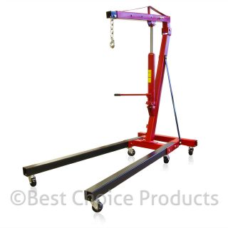 Picker Engine Hoist 2 Ton Tolding Picker Shop Crane Auto Car Shop New