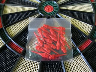 NEW RED Keypoint DART TIPS for All Electronic Dart Boards 1/4 Thread