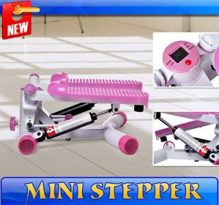 Newly listed Pink Portable Mini Stepper Office Home Exercises W/ TIMER