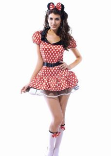PLUS SIZE Mickey Minnie Mouse DRESS Costume Womens Ears XXXL USA