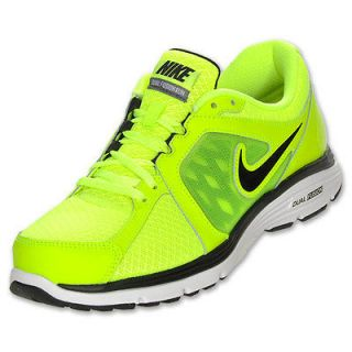 Neon Green Nike Running Shoes #1: new nike mens dual fusion run 3 running shoes neon volt