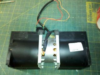 6Z47 SQUIRREL CAGE FAN FROM MICROWAVE SUNG SHIN ICB 8220SSRC 2 SPEED