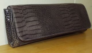 purple croc purse in Handbags & Purses
