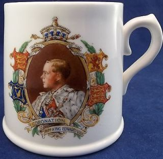 Vintage 1936 ER Edward VIII Coronation Cup Mug Royal Doulton England