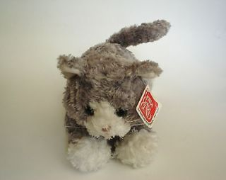 Newly listed Bootsie Stuffed Grey Cat Plush Toy Gund NWT