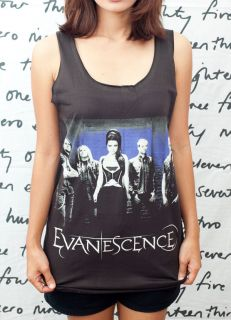Amy Lee Rock Roll Pop Art o WOMEN T SHIRT DRESS Tank TOP Size S M