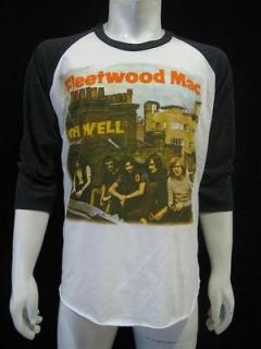 FLEETWOOD MAC OH WELL Rock Music T Shirt Vintage Re Printed Mens