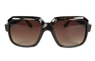 80s RUN DMC FAT Boy Rapper DJ HIP HOP square SUNGLASSES Glasses