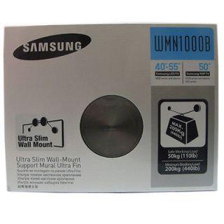 Slim Wall Mount Bracket Support For Samsung LED TV 40 55 PDP 50