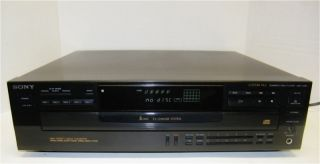 Sony CDP C445 CD Changer