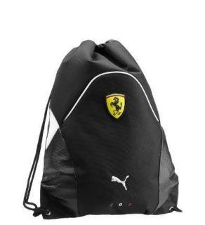 Puma Ferrari Official Replica Gym Sack black white black 070035 02