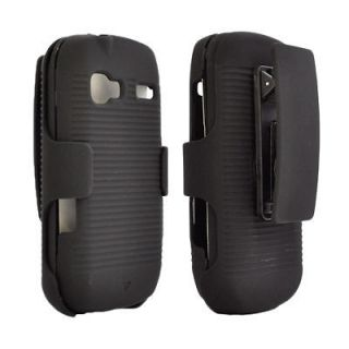 Holster Belt Clip Cover Case+Stand for Boost Mobile LG Rumor Reflex