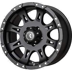 New 18X9 8x170 RACELINE WHL Raptor Black Wheels/Rims