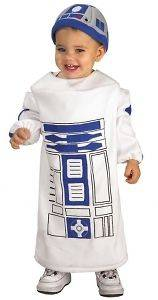 Child Star Wars Robot R2D2 Halloween Costume Dress Up