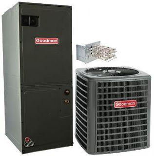Ton 13 SEER Heat Pump Split System w/ Emergency Heat Strip