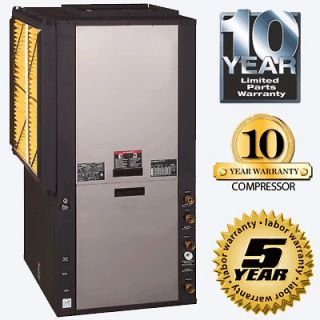 Ton 2 Stage Geothermal Heating And Cooling Heat Pump