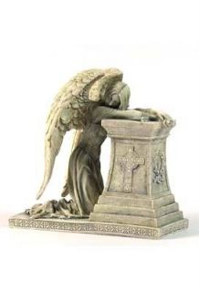 NEW! 7 Gothic Angel Weeping Figurine Wetmore Story Cemetery Statue