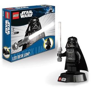 New LEGO Star Wars Darth Vader Desk 12 Led Lightsaber Lamp Figure USB