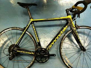 CANNONDALE SUPERSIX 4 ROAD BIKE CARBON MAVIC SRAM BICYCLE PICK UP ONLY