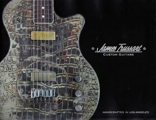 James Trussart Guitars 2011 Catalog   22 High Quality full Color Pages