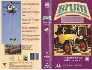 BRUM HELICOPTER RESCUE VHS VIDEO PAL~ A RARE FIND~