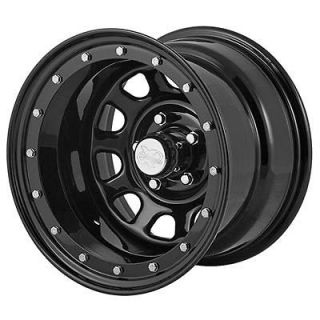 Xtreme Rock Crawler Series 152 Black Steel Wheel 15x12 5x4.5 BC