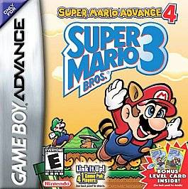 Super Mario Advance 4 Super Mario Bros. 3 Nintendo Game Boy Advance