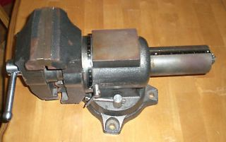 Newly listed COLUMBIAN 5 MULTI PURPOSE VISE W/SWIVEL HEAD & BASE