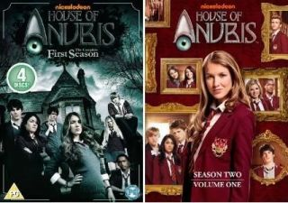 HOUSE OF ANUBIS Complete Seasons Series 1 & 2 Volume 1 *New Sealed