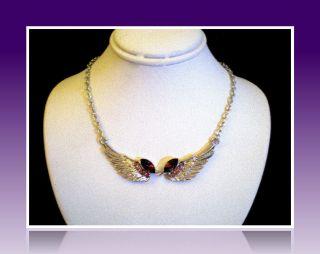 swarovski crystal necklace in Vintage & Antique Jewelry