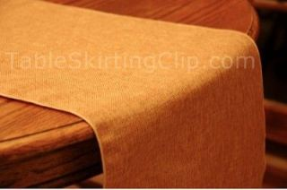 108 FAUX BURLAP TABLE RUNNER   MACHINE WASHABLE BURLAP TABLE RUNNERS