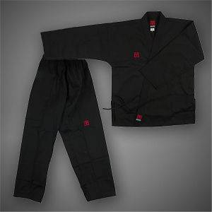 TaeKwonDo Basic4 Black Open DOBOK uniform uniforms Tae Kwon Do TKD