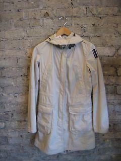 PARAJUMPERS sz XS khaki waterproof cargo light jacket shell