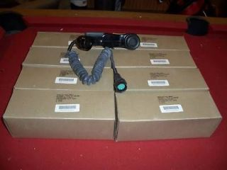 LOT 8 MILITARY SURPLUS RADIO H 33 HANDSET PRC FIELD PHONE TELEPHONE