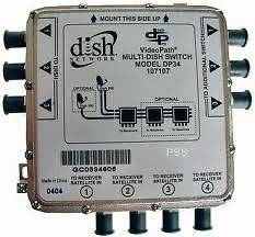 dish network switches in Satellite Signal Multiswitches