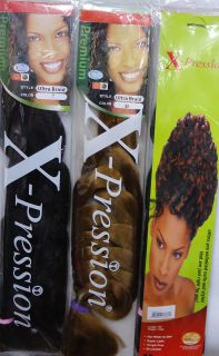 pression ultra braid synthetic hair~~~~all colours availabl~~~~
