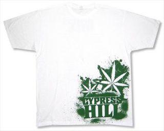 CYPRESS HILL   SIDE PRINT TOUR WHITE T SHIRT   NEW ADULT X LARGE XL