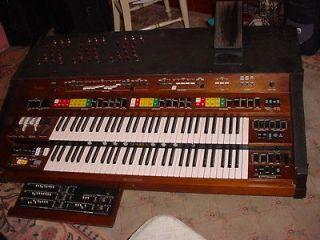 Newly listed Yamaha E70 organ modified into Yamaha CS80 type synth