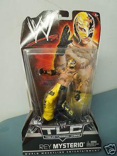 WWE WWF TLC Tables, Ladders & Chairs Rey Mysterio Action Figure NIP
