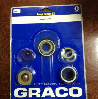 Graco 287825 Mark lV 4 Pump Repair Kit Packing