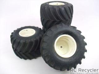 Vintage Tamiya Clod Buster 1/8 Scale Monster Truck Rock Crawler Tires