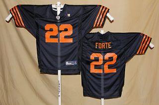 MATT FORTE Chicago Bears REEBOK Equipment THROWBACK JERSEY