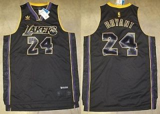 REVOLUTION 30 LOS ANGELES LAKERS KOBE BRYANT CARBONFIBER JERSEY SZ L