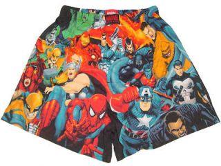 NEW MARVEL HEROES SPIDERMAN HULK IRON MAN FLASH THING BOXER SHORT
